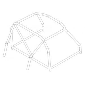 Alfa Romeo Spyder ('63) roll cage (T45)