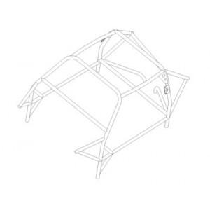 Audi Quattro SWB roll cage (T45)
