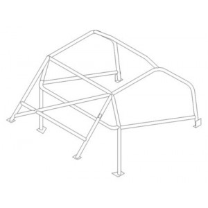 Austin Healey roll cage (T45)