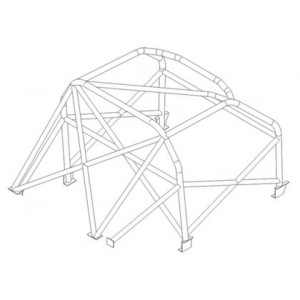 BMW 2000 roll cage (T45)