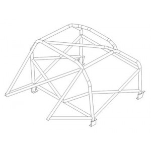 BMW 2002 roll cage (T45)