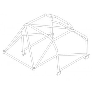 Chevrolet Camaro roll cage (CDS)