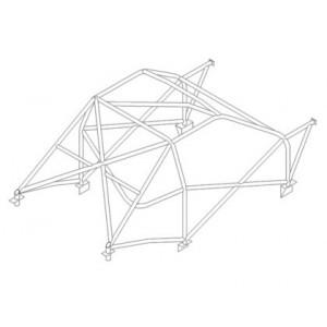 Citroen Saxo roll cage (T45)