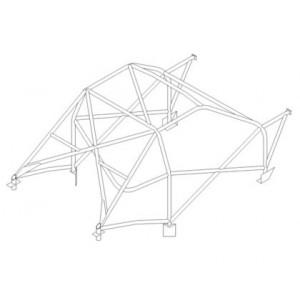 Citroen ZX roll cage (CDS)